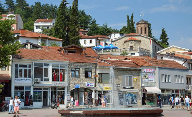 Main square, Ohrid